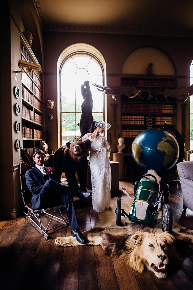 aynhoe park wedding alternative documentary photography-27