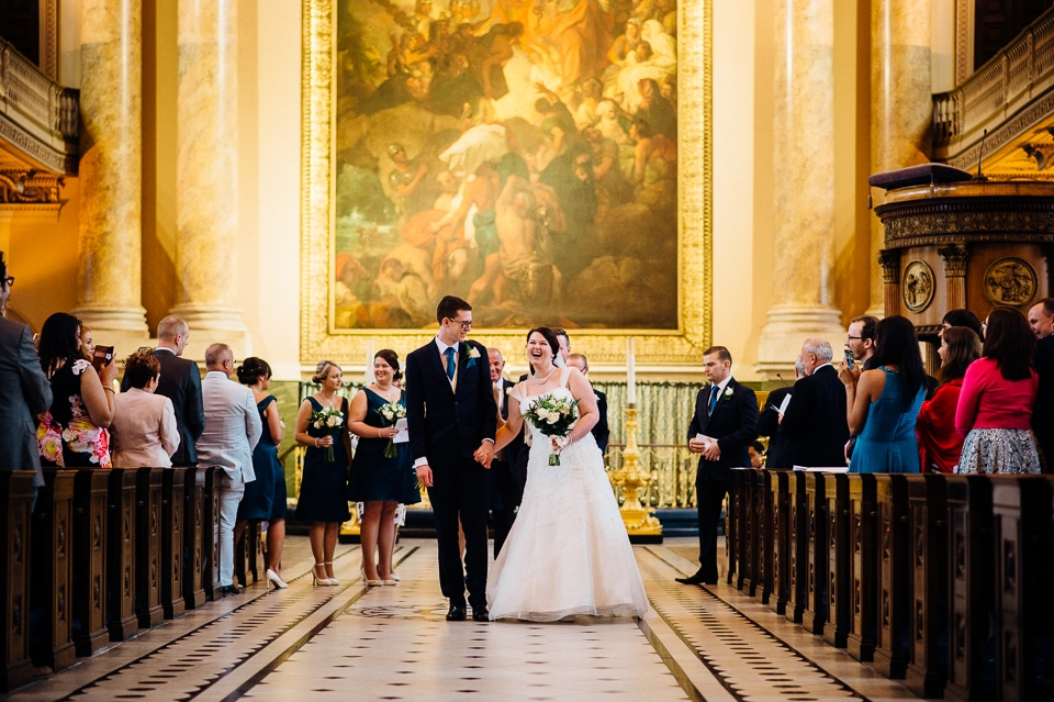 royal naval college library wedding-18