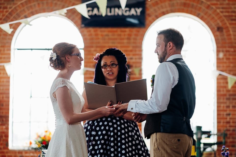 tipi train wedding east anglian museum-18