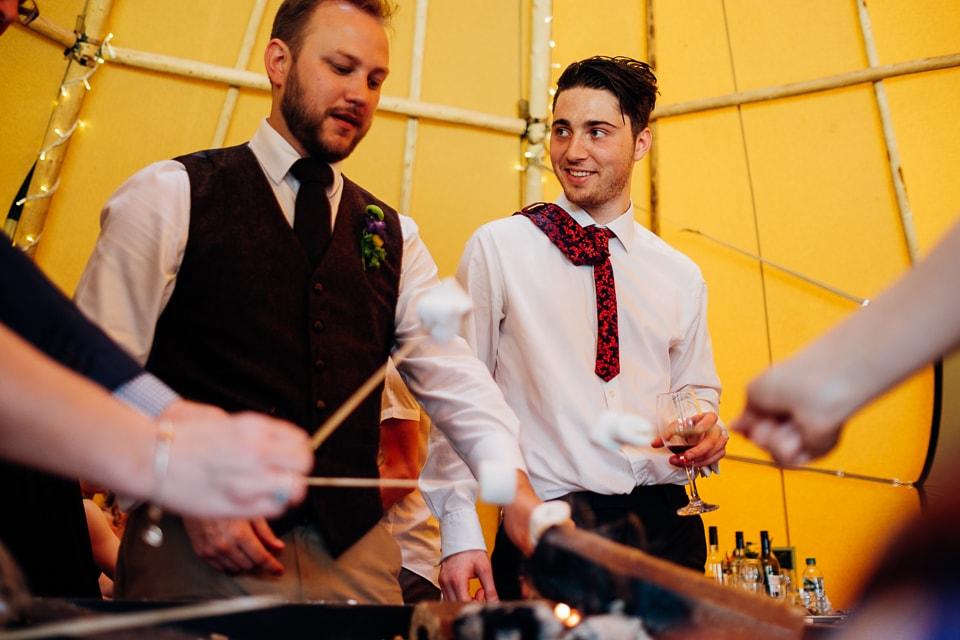 tipi train wedding east anglian museum-31