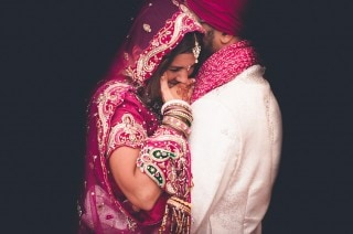 Sikh-French first dance- Heatherden Hall Pinewood Studios
