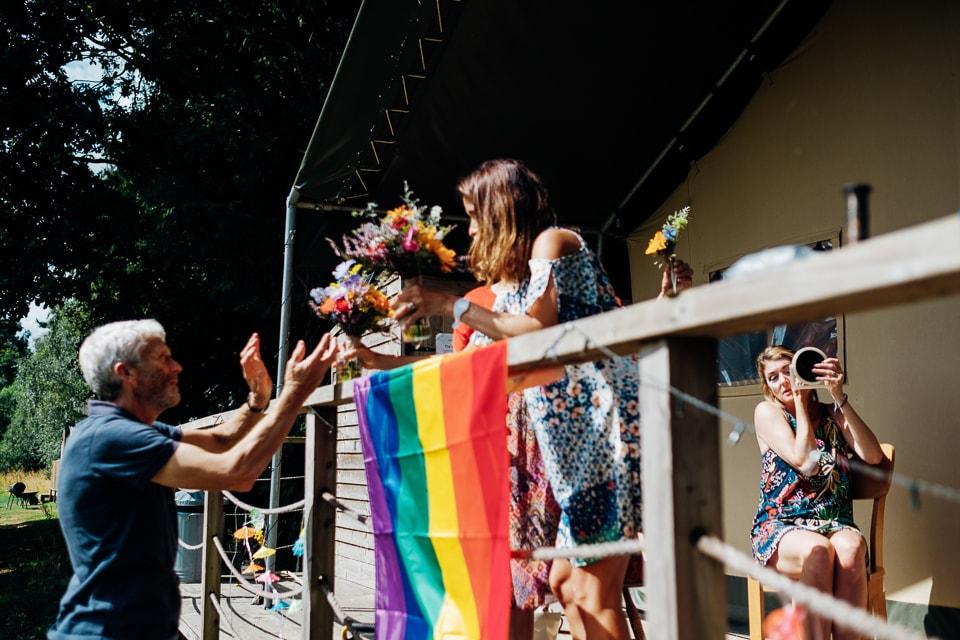camp katur woodland lesbian wedding-32