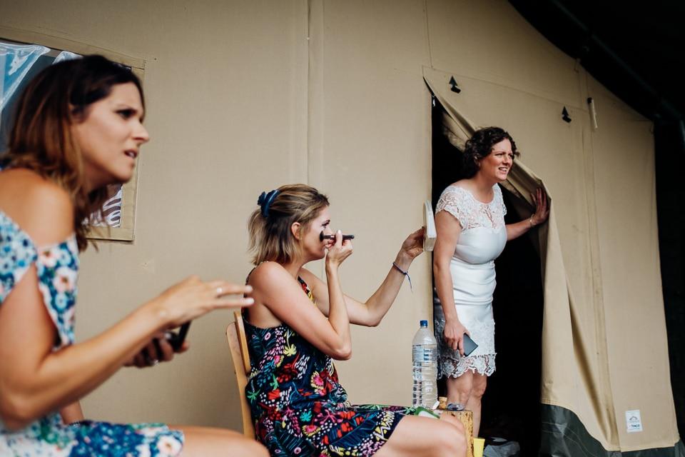 camp katur woodland lesbian wedding-35
