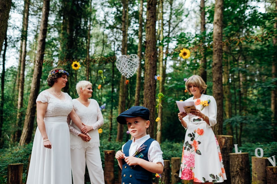 camp katur woodland lesbian wedding-60