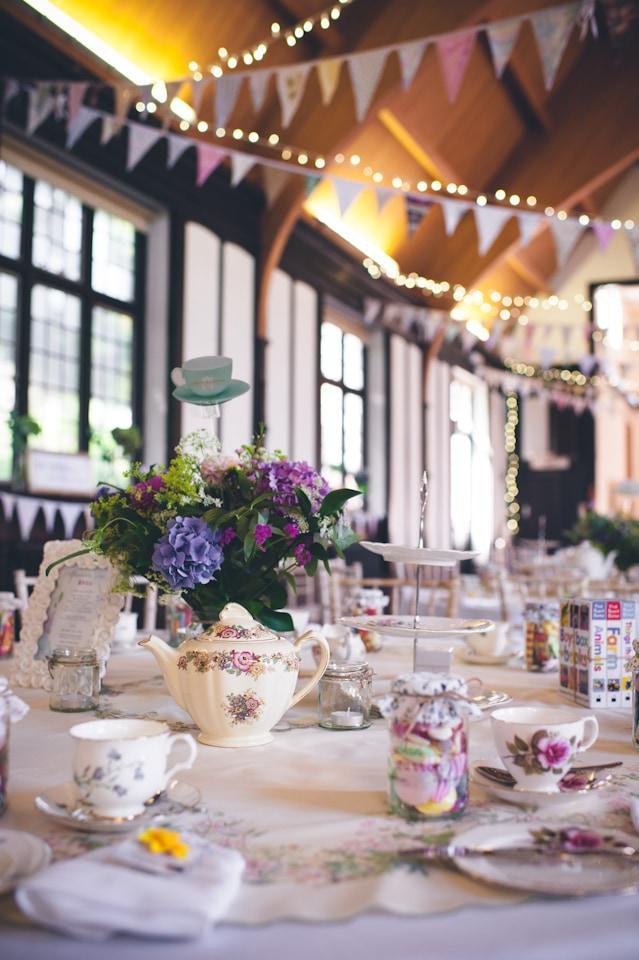 Vintage Tea Party Wedding