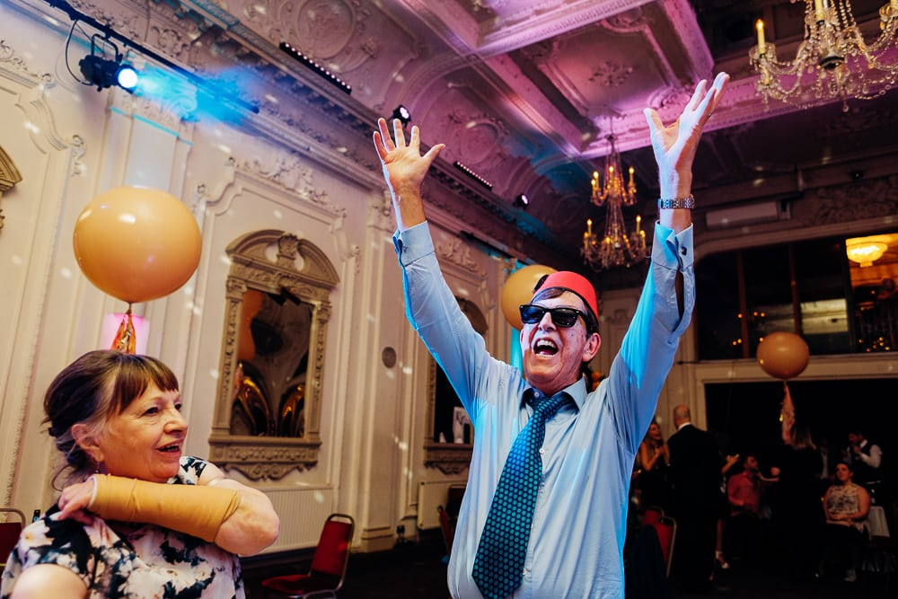 Bush Hall Funky Ska London wedding-79