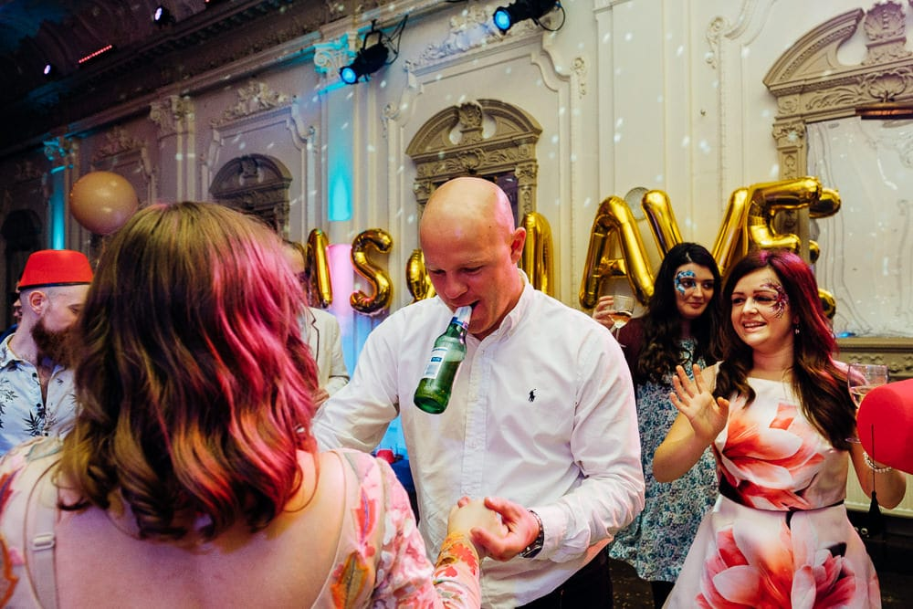 Bush Hall Funky Ska London wedding-85