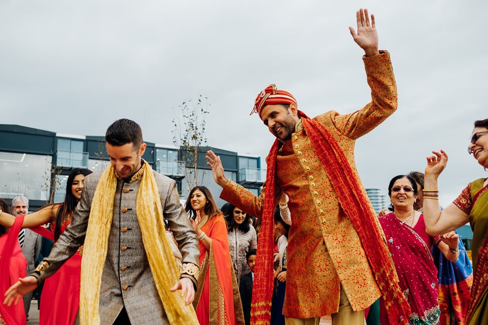 Indian Trinity Buoy Wharf wedding London-10