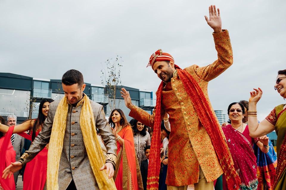 Indian Trinity Buoy Wharf wedding London-10