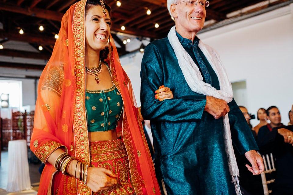 Indian Trinity Buoy Wharf wedding London-16