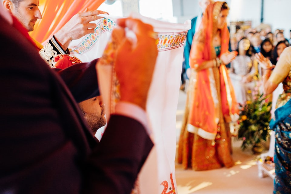 Indian Trinity Buoy Wharf wedding London-17
