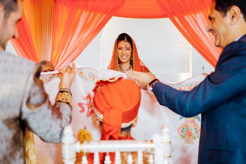 Indian Trinity Buoy Wharf wedding London-18