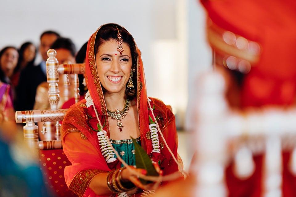 Indian Trinity Buoy Wharf wedding London-21