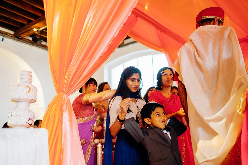 Indian Trinity Buoy Wharf wedding London-24