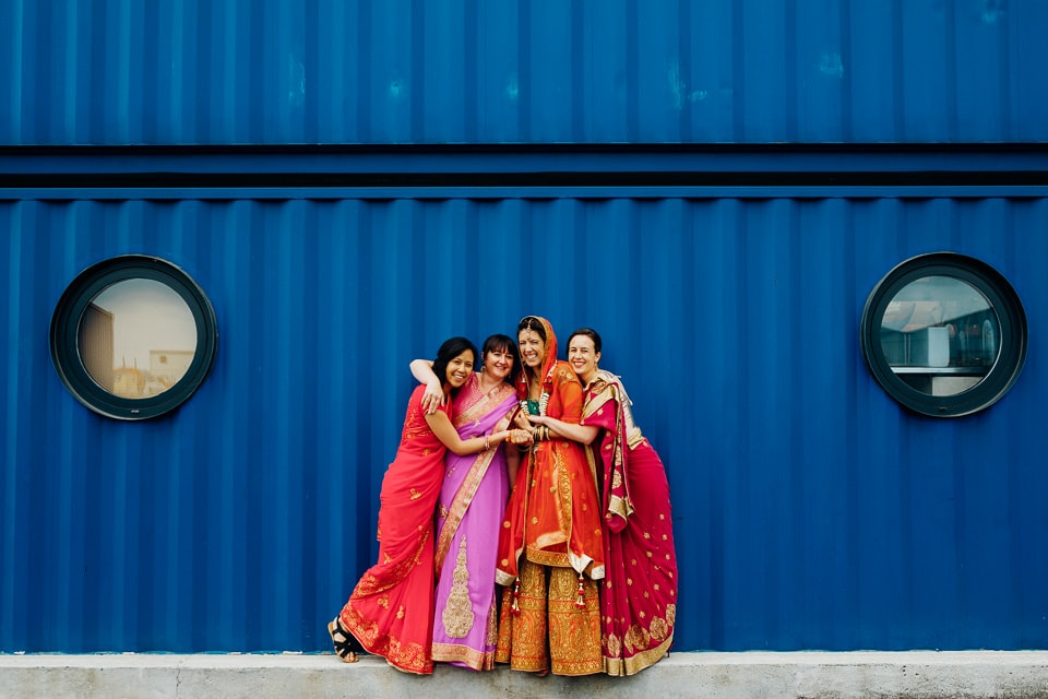 Indian Trinity Buoy Wharf wedding London-29