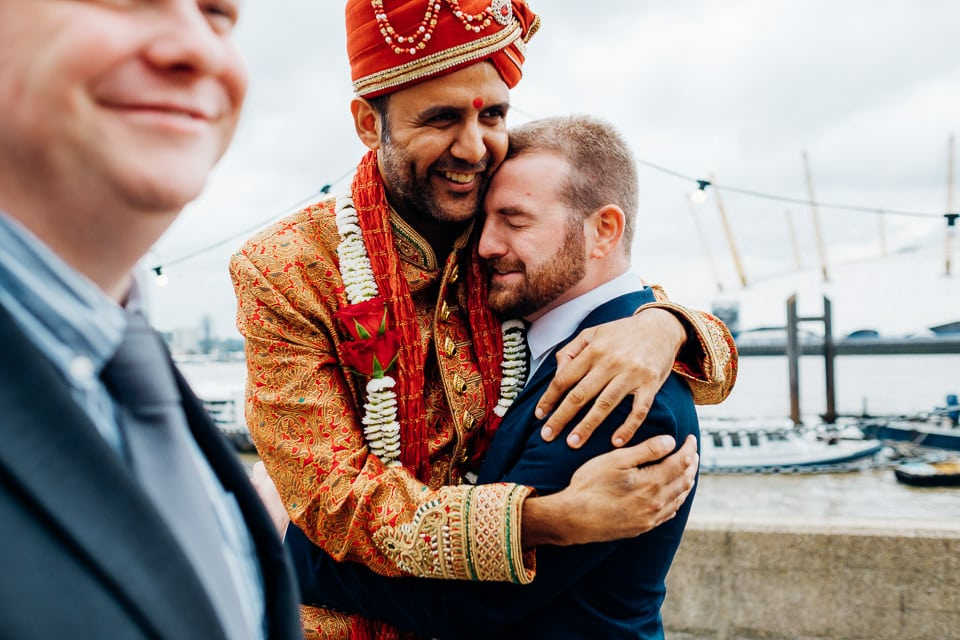 Indian Trinity Buoy Wharf wedding London-31