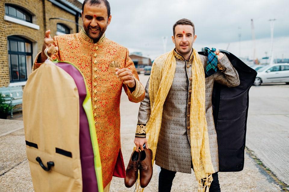 Indian Trinity Buoy Wharf wedding London-34