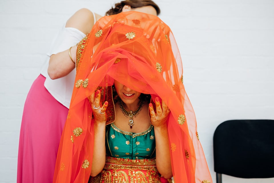 Indian Trinity Buoy Wharf wedding London-39