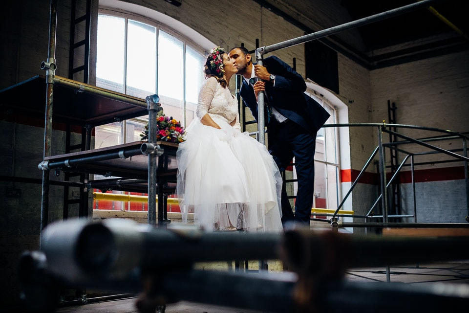 Indian Trinity Buoy Wharf wedding London-53