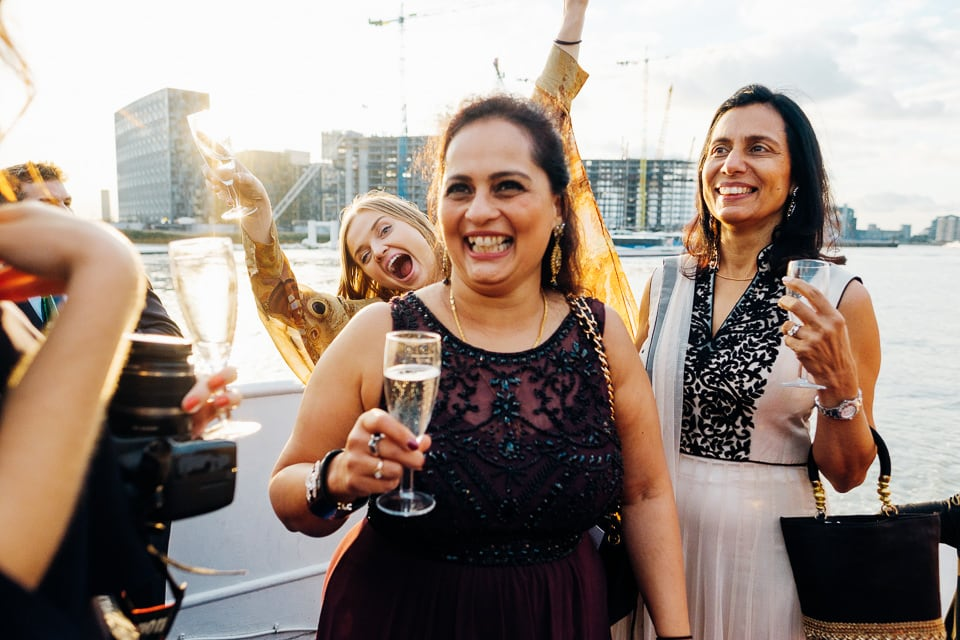 Indian Trinity Buoy Wharf wedding London-63