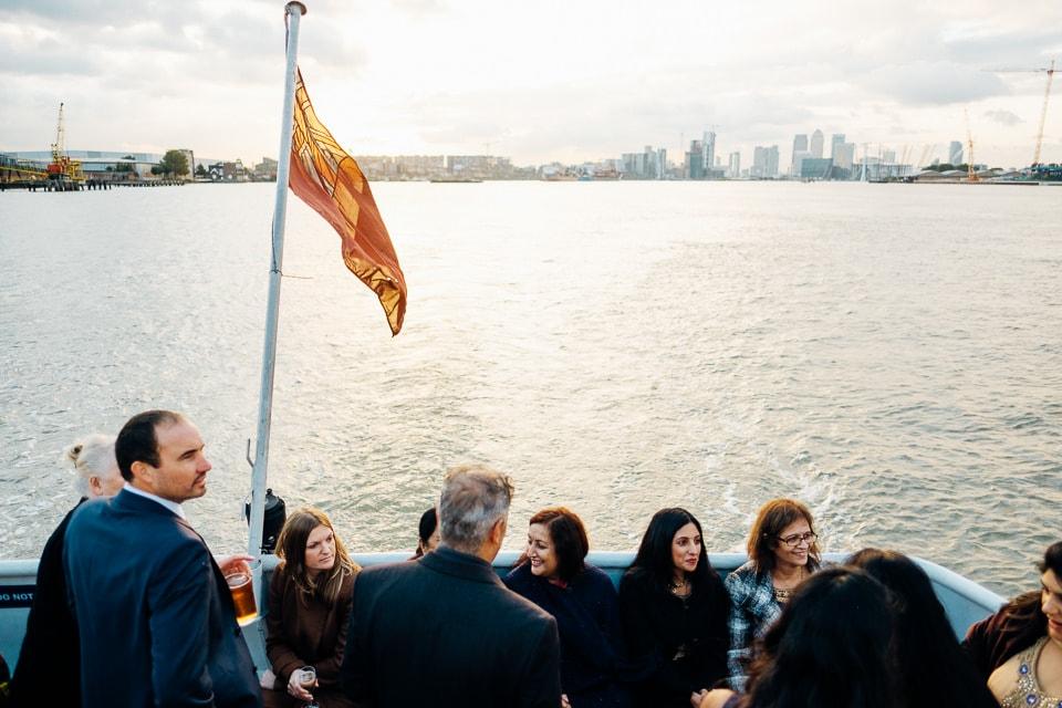 Indian Trinity Buoy Wharf wedding London-72