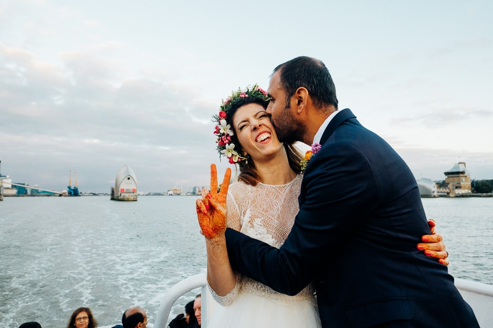 Indian Trinity Buoy Wharf wedding London-74
