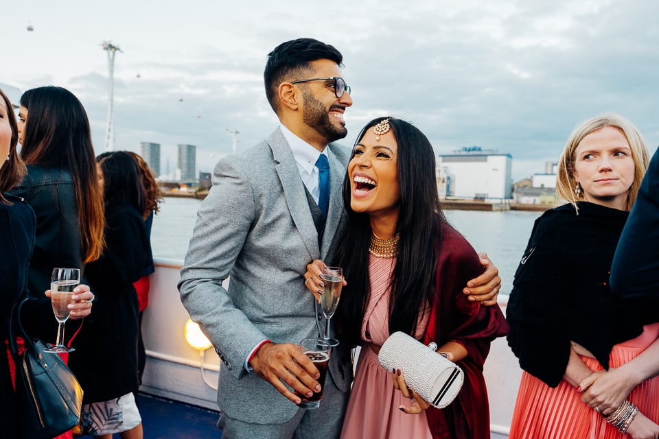 Indian Trinity Buoy Wharf wedding London-77