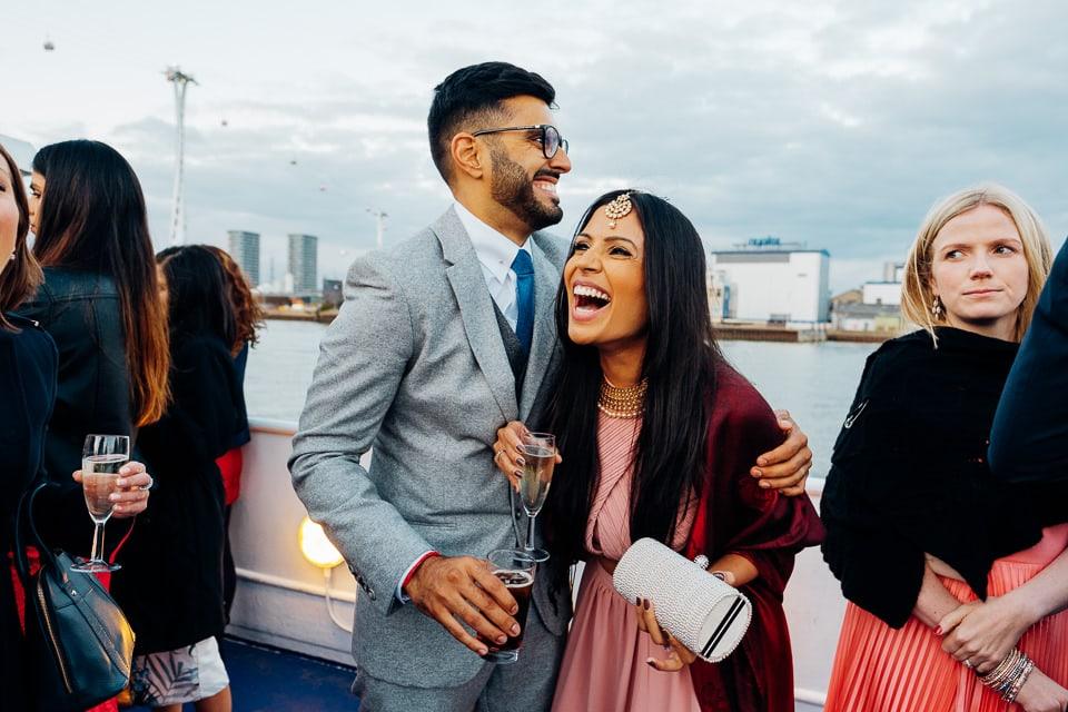 Indian Trinity Buoy Wharf wedding London-77