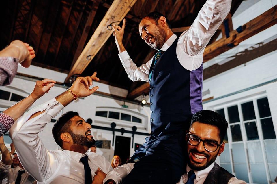 Indian Trinity Buoy Wharf wedding London-112