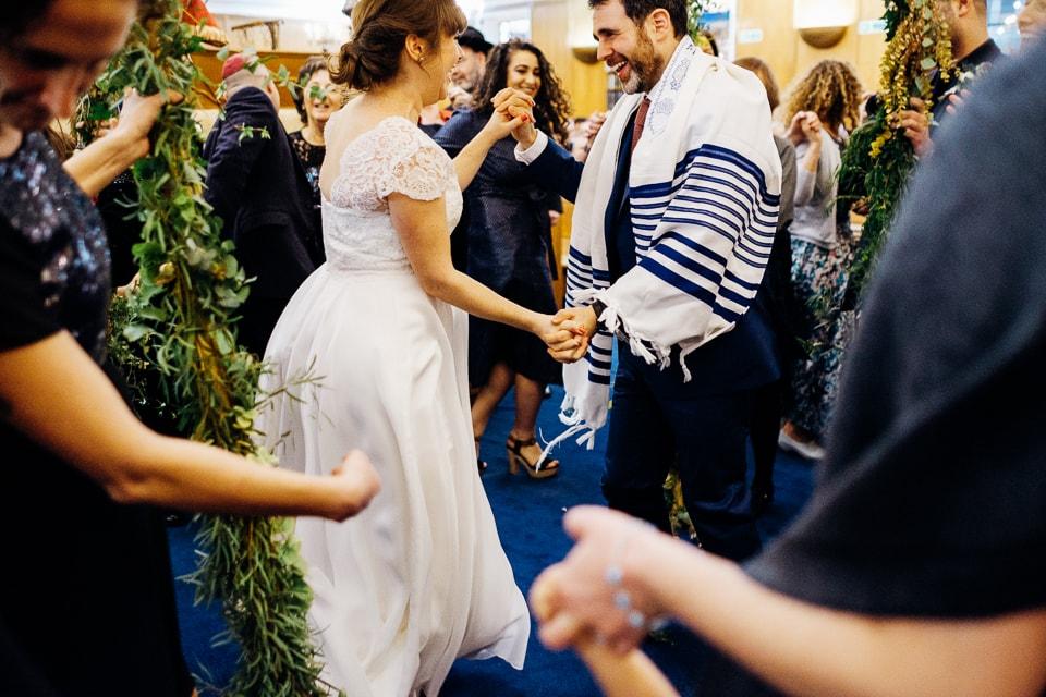 jewish couple dancing chutzpah