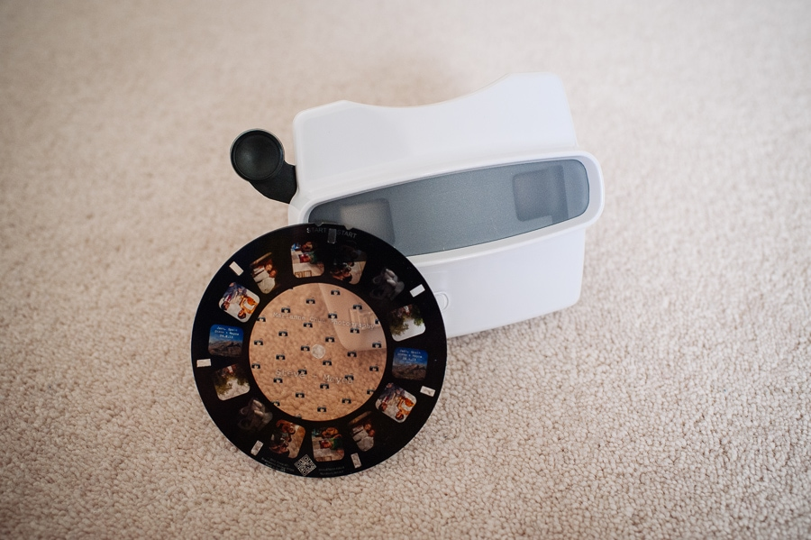 fun 3d viewmaster wedding photography