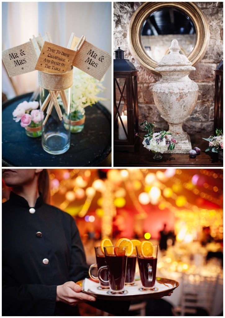 scottish wedding vintage hot toddies