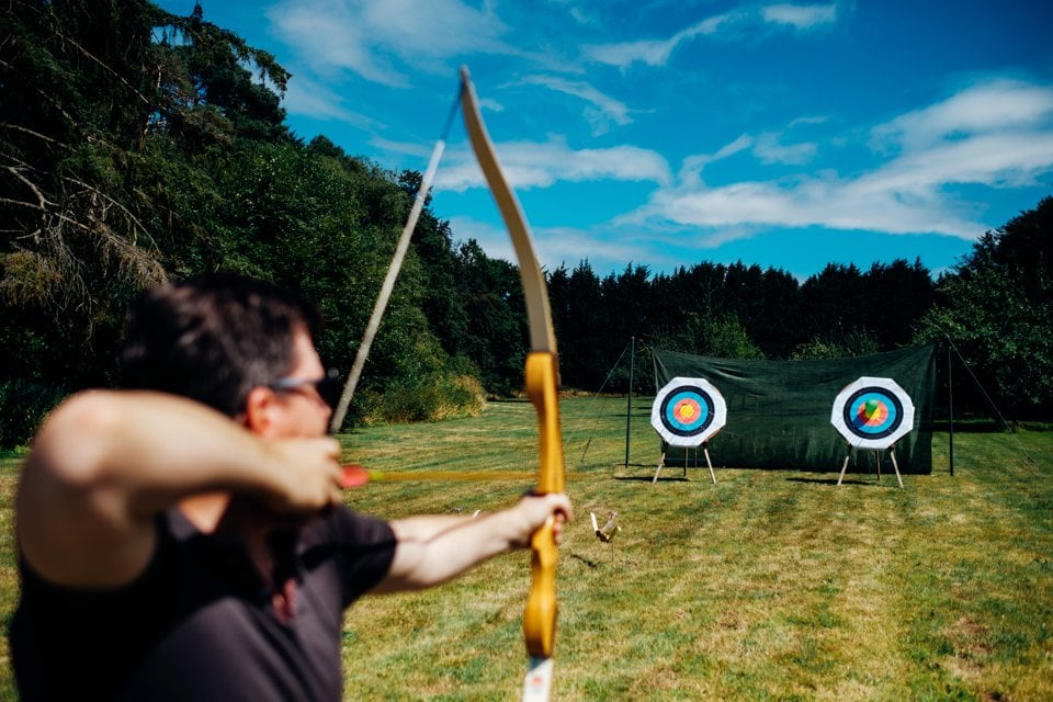 wedding archery