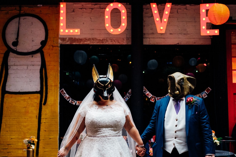 islington metalworks wedding