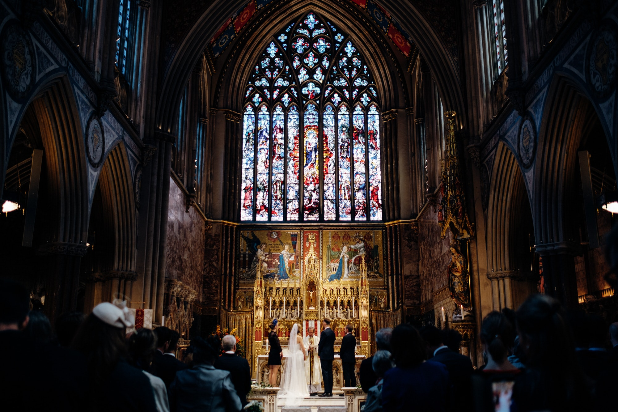 farm church London wedding
