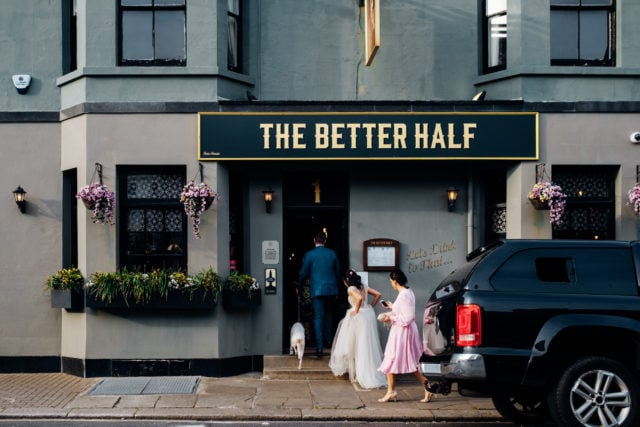 better half pub wedding