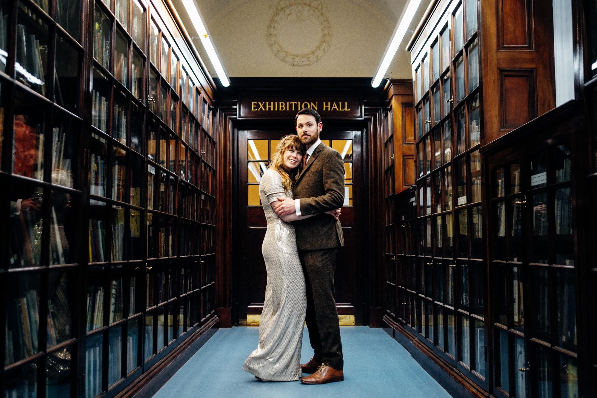 fulham library wedding