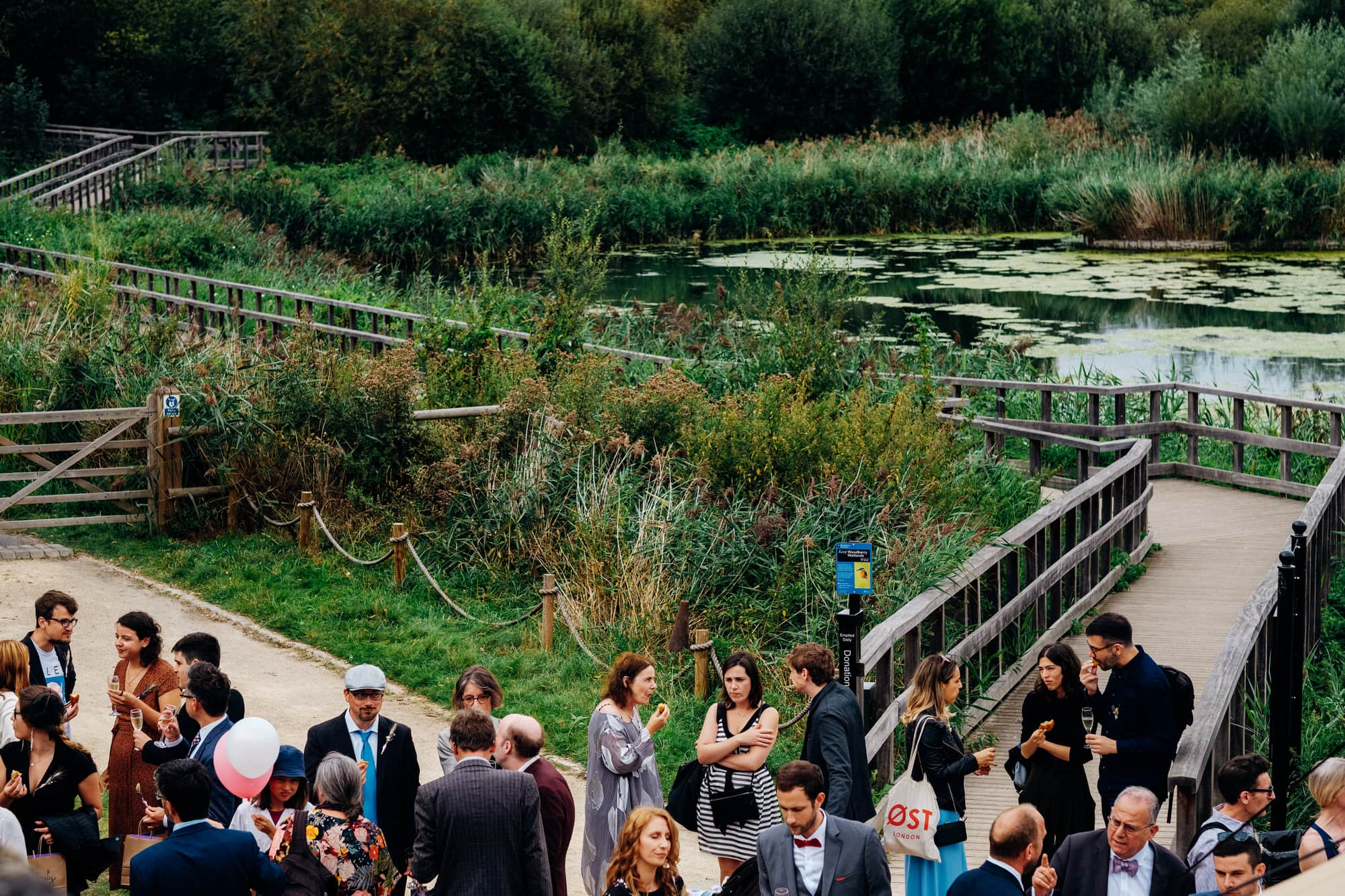 Woodberry Wetlands wedding