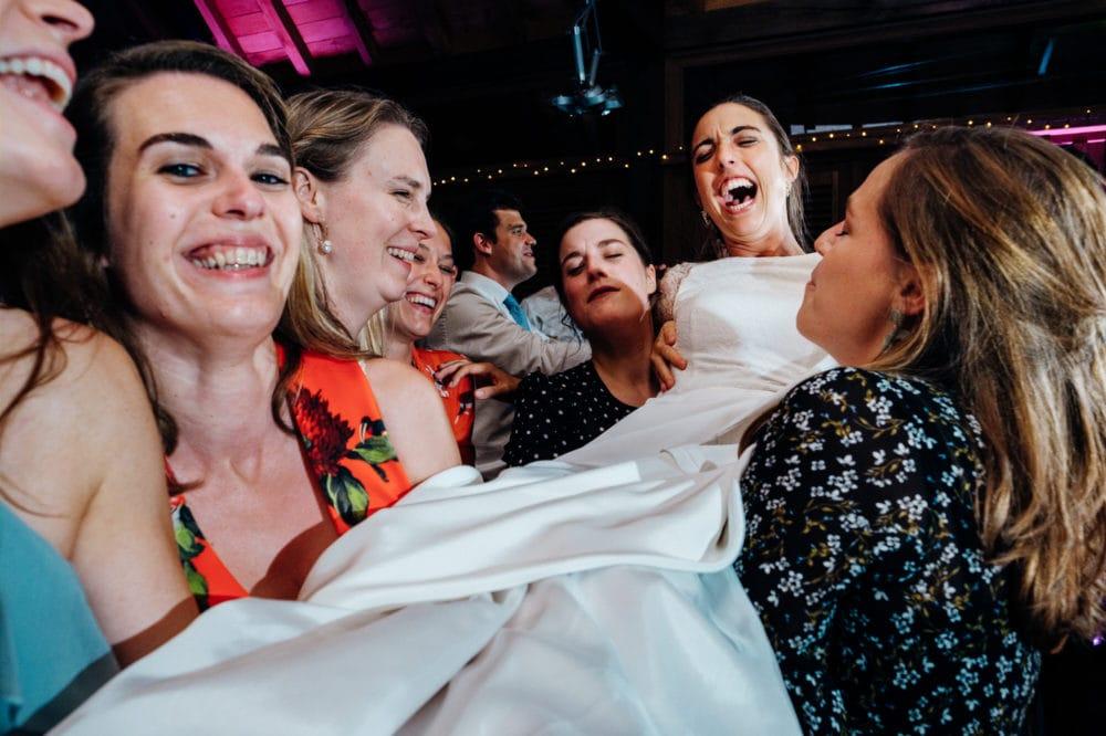 wild bride party