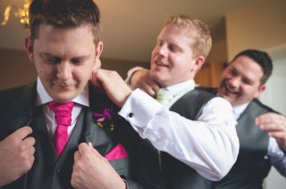 groom and groomsmen Informal Alternative Candid Relaxed Fun Alternative Documentary Wedding Photography Quirky