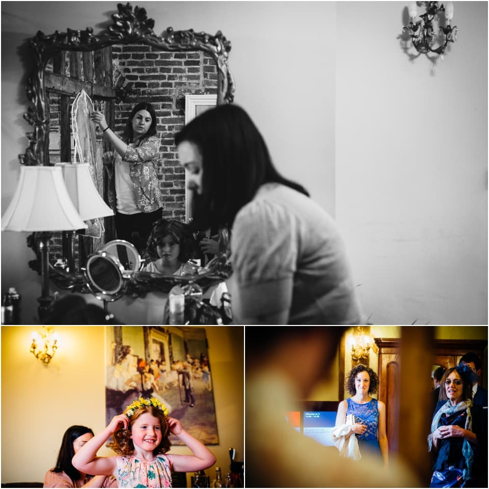 Vintage Wedding Dresses Hertfordshire: Raf And Hannah's Quirky Jewish Wedding With A Floral