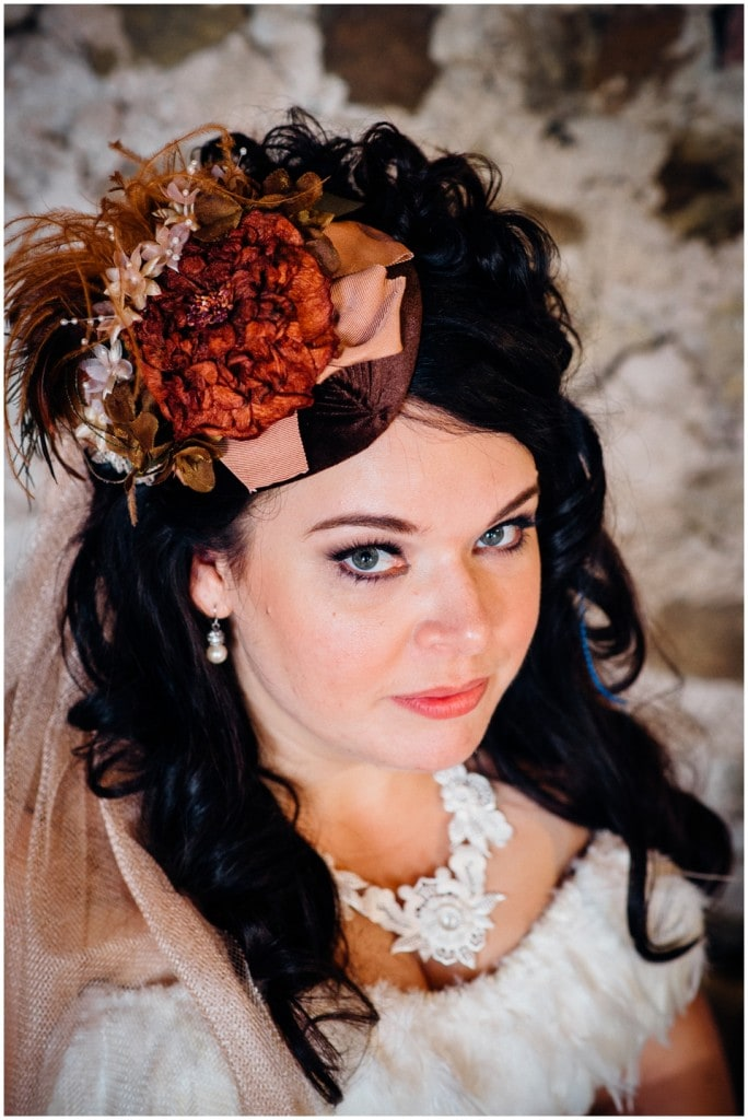 western barn girl bride