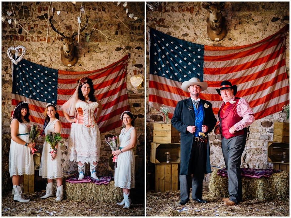 cool wedding group photos
