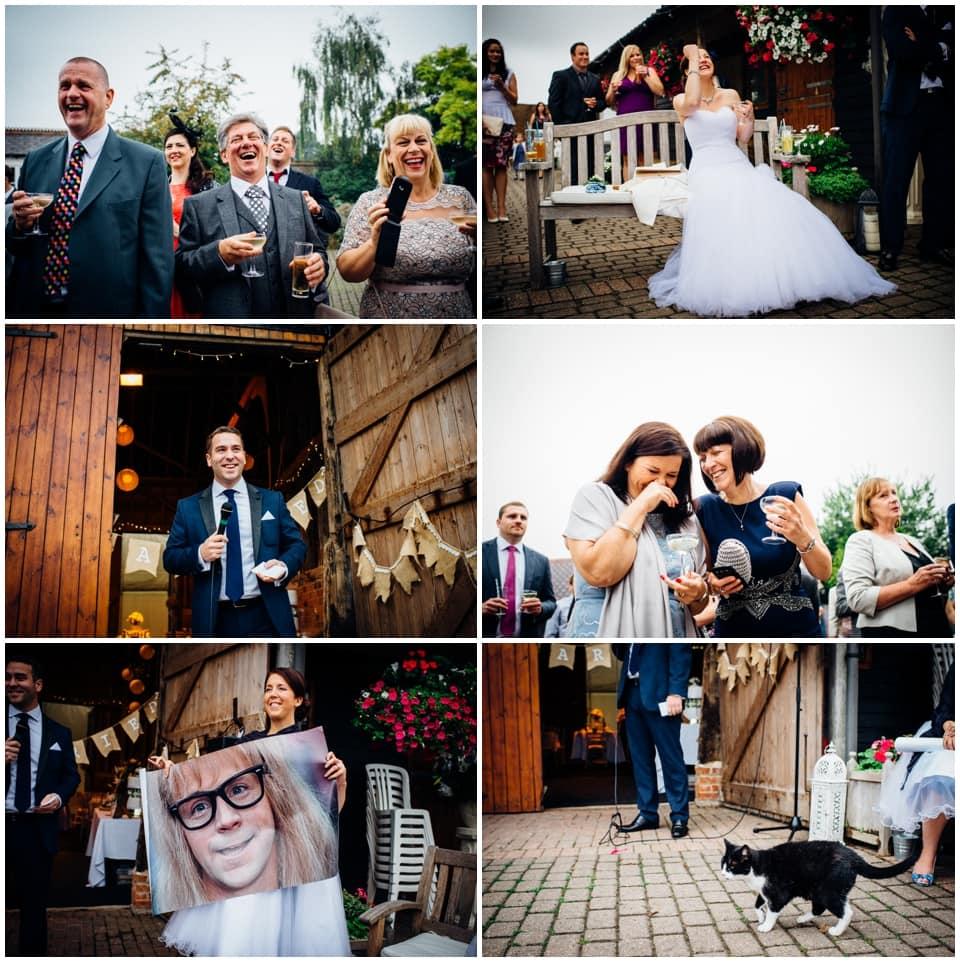 clockfoot barn wedding
